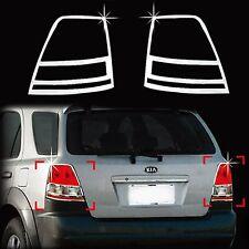 Chrome Rear Tail Light Lamp Molding Trim Cover for 03-06 Sorento