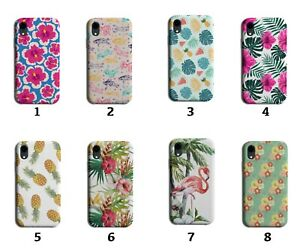 Hawaii Phone Case Cover Hawaiian Leaves Lily Lei Flowers Flamingo Paradise 8209B