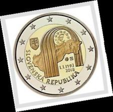 2 EURO *** Slovaquie 2018 Slowakije *** 25 jaar republiek 25 ans republique !!!