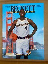 Basketball Beckett November 93 Issue #40 Chris Webber cover, Oliver Miller back