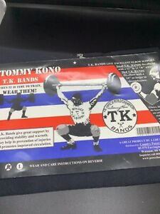 Tommy Kono T.K. Knee Bands Sleeves Size Med Stability and Warmth