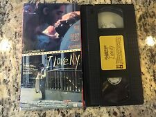 I LOVE N.Y. RARE MAGNUM VHS! VERY HARD TO FIND ON DVD 1988 SCOTT BAIO COMEDY OOP