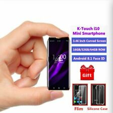 Super Mini 4G LTE Smallest Smartphone K-TOUCH I10 Android8.1 Face ID 3GB/64GB