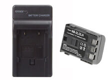 NB-2LH Battery & Charger Set for Canon EOS 400D, 350D, G9, S80 Rebel XTi 1800mAh