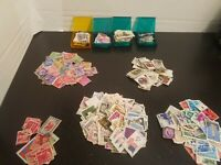 Vintage US and Worldwide Postage Stamp Accumulation Collection Lot