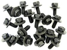 Mazda Body Bolts- M6-1.0 x 16mm Long- 10mm Hex- 17mm Washer- 20 bolts- #180