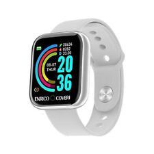 Smartwatch ENRICO COVERI SW-EC003 Silicone Bianco Musica Sport FIV