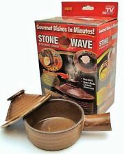 Stone Wave Microwave Cooker Non Stick Ceramic Seen TV