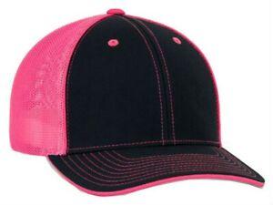 Pacific Headwear Trucker Flexfit Cap Hat Moisture-Wicking Multiple Sizes & Color