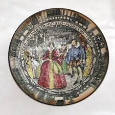 Rare Royal Doulton Queen Elizabeth at Old Moreton 1589 Collectors Plate/Bowl
