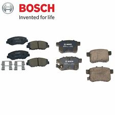 For Honda Acord 2.4L L4 2008-2015 Front & Rear Brake Pad Set Bosch QuietCast