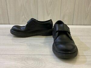 Dr. Martens Kamron Hook & Loop Loafers, Little Kid's Size 3M, Black