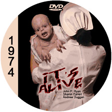 "It's Alive (1974) Sci-Fi and Horror NR CULT ""B"" Movie DVD"