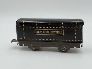 Vintage Marx Tin Litho New York Central Coal Tender Train Car Car O Gauge