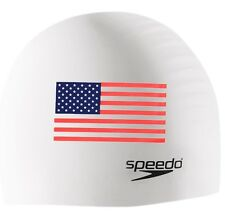 Speedo Silicone Flag Cap - White - 2018