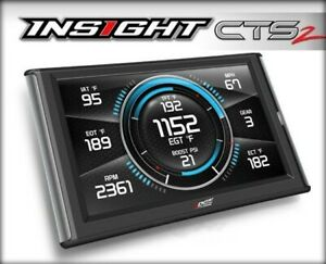 Edge Insight CTS2 Monitor (1996 & Newer OBDII Enabled Vehicle) New