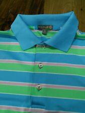 Mens Peter Millar Summer Comfort Golf Shirt XL W/ Vaquero Logo ⛳