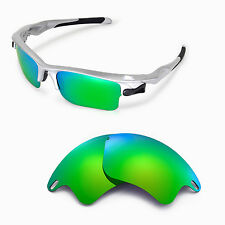 New Walleva Polarized Emeraldine EG Lenses For Oakley Fast Jacket XL