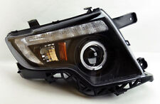 Ford Edge 07-10 Projector LED DRL Halo Headlights - Black