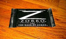 THE MASK OF ZORRO Vintage Unopened Movie Film Collector Trading Card Pack NEW!