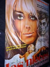 LES NIECES  affiche cinema erotique sexy loris  1969