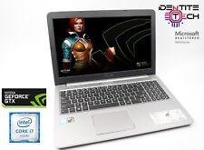 "Cheap Gaming Ordinateur Portable Asus R5 i7 Skylake 8 Go RAM 1 To Disque dur NVIDIA GTX950M 2 Go 15.6"""