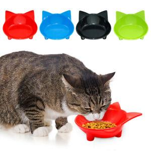 Pet Cat Dog Food Bowl Water Dish Kitten Feeding Drinking Bowl Non-Toxic Ceramic