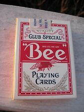 Red  Bee Diamond Back Club Special Playing Cards CIRCUS CIRCUS HOTEL / CASINO