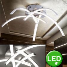 Led Design Plafonniers Chambre à Coucher Éclairage Couloir Spot Lampe Argent
