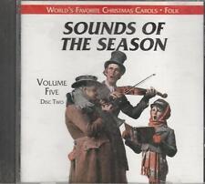 Music CD Sounds of the Season Volume 5 Disc 4 World's Favorite Christmas Carols