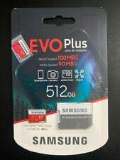 SAMSUNG EVO Plus 512GB Micro SD Card