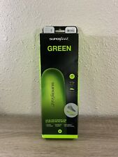 Superfeet GREEN Insoles, Size F Men's 11.5 - 13 Women's 12.5 +