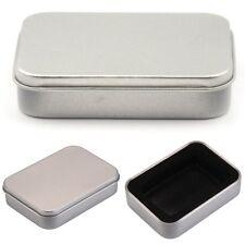 Zigarettenbox Metall Zigarettenetui Zigarettenschachtel Zigarettendose Silberbox