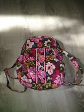 Vera Bradley Mod Floral Pink Small Backpack, Beautiful Used Condition!