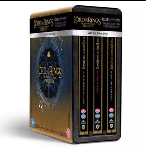 The Lord Of The Rings Trilogy Ltd Edition 4K UHD Steel book Collection