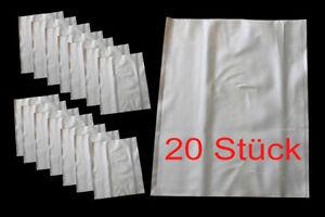20x Bolsa Grande Schlauchtüten Saco PVC Transporte Lagertüte Rda Desgarro &