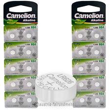 """20x Camelion Knopfzellen Alkaline AG4 LR66 LR626 377"