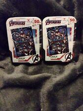 2 Avengers Endgame 50 Piece Tin Jigsaw Puzzles