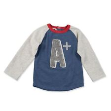 "Mud Pie Toddler Boy Back to School ""A Plus"" T-Shirt Sz M (24Mos/2T/3T) NEW"