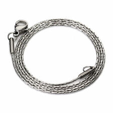 Wholesale 5pcs/lot 45cm 0.9mm Stainless Steel Snake Chains Necklace Jewelry DIY