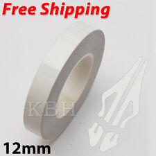 "12mm x 9.8m Pinstripe Single Pin Stripe Tape Vinyl Decal Sticker Car 1/2"" White"