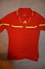 2011 Adidas Climacool Formotion Soccer Referee Jersey, Red, Small, SS, NEW