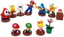 Super Mario Bros Collection 3 Set of 11 1.5-Inch Mini Figures [Blue Capsule]