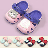 Summer Toddler Baby Boys Girls Cartoon Beach Sandals Slippers Flip Shoes