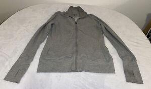 🔥Nike Dri fit  gray jacket w/thumb hole Size L🔥