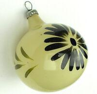 Antiker Russen Christbaumschmuck  Glas Weihnachtsschmuck Old Ball Ornament