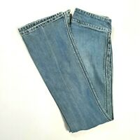 SILVER JEANS Womens VINTAGE Low Rise Flare Leg Jeans Medium Wash Size 26 REGULAR