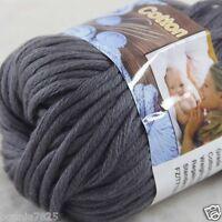 Sale New 1 Skein x 50g Soft 100% Cotton Chunky Super Bulky Hand Knitting Yarn 32