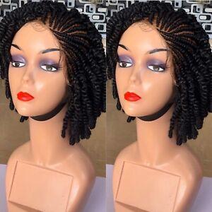 Kinky Braided Wig: