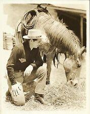 CLARK GABLE & MIKE, the Horse Original Vintage MGM Photo PORTRAIT 1938